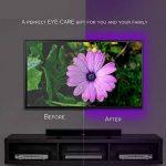 LEBRIGHT USB LED TV rétroéclairage ruban led,100cm(39Inch) 5V bande led Kit d'éclairage USB Bias pour jeux de télévision, éclairage multi-couleurs imperméable à l'eau pour HDTV de la marque LEBRIGHT image 4 produit