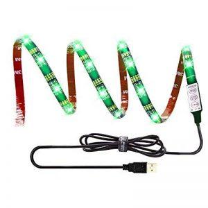 LEBRIGHT USB LED TV rétroéclairage ruban led,100cm(39Inch) 5V bande led Kit d'éclairage USB Bias pour jeux de télévision, éclairage multi-couleurs imperméable à l'eau pour HDTV de la marque LEBRIGHT image 0 produit