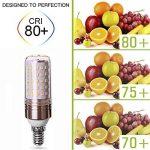 LED E14 Ampoules 16W Équivalent à Ampoule Halogène 120W / 1253lm Blanc Froid 6000K - lot de 2 de la marque AWE-LIGHT image 1 produit