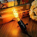 LED Edison Ampoule, Elfeland 3x E27 3W Ampoule Vintage 3W Remplace Ampoule Incandescence de 25W Filament en Spirale LED Style Rétro Antique Dimmable 2200K 180LM Lumière Blanc Chaud Globe Modèle G80 de la marque Elfeland image 1 produit