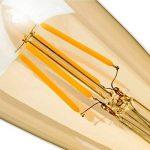 LED Edison Ampoule, GogoTool 4W 400LM 2600-2700K Angle de faisceau à 360° E27 ST64 LED Edison Lampe Vintage Ampoule Décorative Antique Rétro - 6 Pack de la marque GogoTool image 4 produit