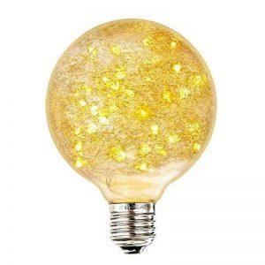 LED Edison Ampoule Vintage, Elfeland E27 50 LEDs Ampoule Décorative DIY avec Oiseau Nest Design Blanc Chaud 2200K 85-265V de la marque Elfeland image 0 produit