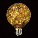 LED Edison Ampoule Vintage, Elfeland E27 50 LEDs Ampoule Décorative DIY avec Oiseau Nest Design Blanc Chaud 2200K 85-265V de la marque Elfeland image 1 produit