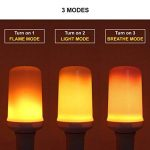 Led Effet vacillant Fire Flame E27Ampoule simulée 3Mode humeur lampe de la marque Long Life Lamp Company image 2 produit