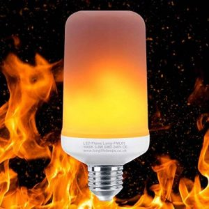 Led Effet vacillant Fire Flame E27Ampoule simulée 3Mode humeur lampe de la marque Long Life Lamp Company image 0 produit