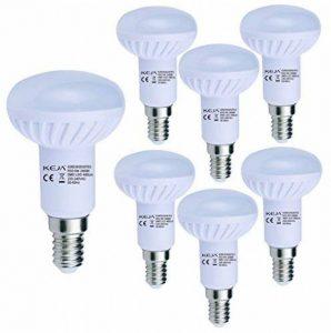LED FACTORY 6W E14 LED, 60W Ampoule Halogène Équivalent, 480lm, Blanc Chaud, 2800K, 120° Larges Faisceaux, Pack de 6 Unités Ampoules de la marque LED FACTORY image 0 produit