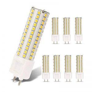 LED G12 ampoule 10W Corn Light AC85-265V 360 degrés 1000 Lumens chaud blanc 70-100W remplacement halogène, 8 pièces de la marque AscenLite image 0 produit