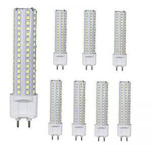 LED G12 ampoule 15W Corn Light AC85-265V 360 degrés 1500 Lumens Blanc Froid 100-150W remplacement halogène, 8 Pièces de la marque AscenLite image 0 produit