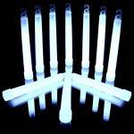LED-Highlights Lot de 10maxi Power Blanc froid (150x 15mm) avec sécurité Cordons 10 de la marque KnickLichter image 1 produit