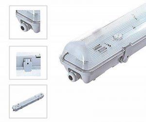 """Led In Scene - Réglette étanche simple pour tube """"néon"""" LED T8 1500mm de la marque Générique image 0 produit"""