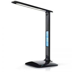 LED Lampe de table dimmable haute puissance à calendrier | lampe de bureau / lumière de table | Calendar Desk Lamp | 3 couleurs de lumière | Fonction de températures, d'alarme et de calendrier | haute efficacité lumineuse / env. 450lm | Classe d'efficacit image 0 produit