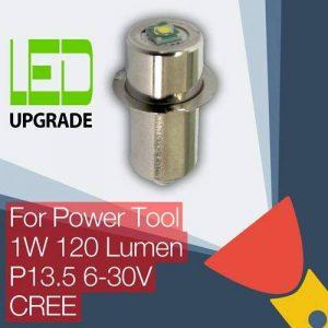 LED mise à niveau ampoule Outil Électrique Torche Bosch DeWalt Makita Hitachi Milwaukee Panasonic Ryobi Worx Black & Decker Snap-on 9.6 12 14.4 18 24v CREE de la marque TorchUpgrades image 0 produit
