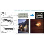 LED R7S 30 W Pas-Dimmable Ampoule À Double Extrémité J Type J118 LED Projecteur avec 250 W Halogène Ampoule Remplacement de la marque AscenLite image 4 produit