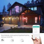 LED Smart Ampoule Wifi, Backture google home ampoule fonctionne avec Amazon Alexa Echo ampoule e27 wifi domotique à couleur changeante, à intensité variable, Programmez, Choix de scène, APP contrôle à distance par smartphone Android/iOS (économie d'énergi image 2 produit