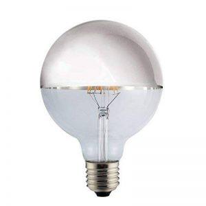 LED Vintage RLED Ampoule LED avec lumière chaude E27, 8W, Argent, 12x 18cm de la marque LED Vintage image 0 produit