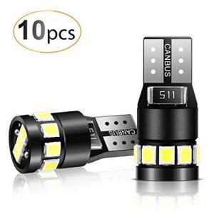 led w5w TOP 11 image 0 produit