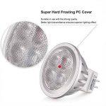 LEDGLE [Lot de 5] 3W Ampoules MR11 GU4 4-LED 260 Lumens Équivalente à une Ampoule Incandescente de 36W 3000K -Blanc Chaud de la marque Ledgle image 3 produit