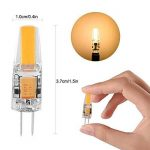 LEDGLE [Lot de 6] 3W Ampoules G4 20-LED SMD2835 300 Lumens Équivalente à une Ampoule Incandescente 35W Angle du faisceau 360° 2800K -Blanc Chaud de la marque Ledgle image 1 produit
