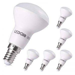 LEDGLE [Lot de 6] Ampoules LED E14 6W 500 Lumens Equivalent à Ampoule Incandescente de 50W 3000K-Blanc Chaud de la marque Ledgle image 0 produit
