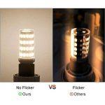 LEDGLE [Version améliorée ] Lot de 5 Ampoules LED G9 6W Sans Scintillement 54-LED SMD4014 420lm non-dimmable Equivalent à Ampoule Halogène de 60W avec Large Angle de Faisceau 2800K-Blanc Chaud de la marque Ledgle image 3 produit