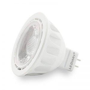 Lediary GU5.3ampoules à LED MR1612V, 50W ampoules halogènes équivalent, 5W Blanc chaud LED Spot LED, angle de faisceau 40°, non dimmable, ampoules LED, 6-pack, blanc chaud, GU53-12-W 5.00 wattsW de la marque LEDIARY image 0 produit