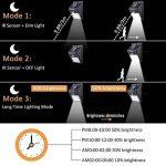 LEDMO 2-Pack 20 LED Lampe Solaire Jardin, Éclairage Détecteur de Mouvement etanche pour extérieur, Clôture, Patio, Pont, Cour, Allée, Escalier. (Blanc Lumière du Jour, 6000K) de la marque LEDMO image 2 produit