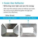 LEDMO 50W Projecteur led exterieur,étanche IP65 pour spot led extérieur, lumière du jour blanc, 6000K, 5000lm, 250W Equivalent halogène,Lumières de sécurité,Lumière d'inondation de la marque LEDMO image 4 produit