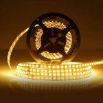 LEDMO KIT Ruban LED,DC12V SMD 2835-600LEDs Ruban LED,IP20 2700K Lumière Blanc Chaud Bande Lumineuse LED,Pack avec Bande LED 5M et Transformateur 12V 5A. [Classe énergétique A+] de la marque LEDMO image 2 produit