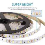 LEDMO KIT Ruban LED,DC12V SMD 5630-300LEDs Ruban LED,IP20 Non-étanche Blanc Froid Lumière Bande Lumineuse LED,300LEDs,Pack avec Bande LED 5M et Transformateur 12V 5A. de la marque LEDMO image 2 produit