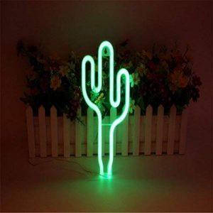 LEDMOMO Neon Signs Cactus veilleuses pour Noël décoration de la maison (vert) de la marque LEDMOMO image 0 produit