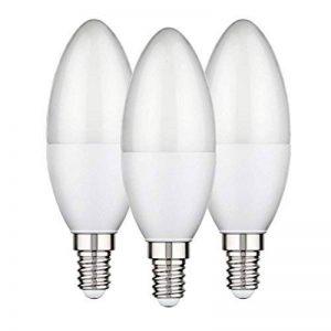 ledscom.de E14 LED Bougie 6W =40W 450lm 270° Blanche, 3 pcs de la marque ledscom.de image 0 produit
