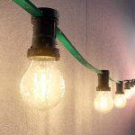 ledscom.de E27 LED Ampoule Filament A60 3,6W =37W Blanche-Chaude 400lm A++ pour l'intérieur et l'extérieur, 5 pcs de la marque ledscom.de image 2 produit