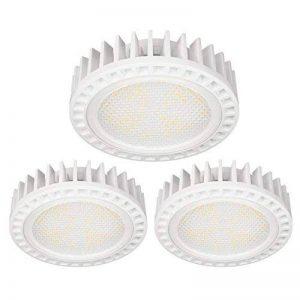 ledscom LC-SS-591-WW-x3 Éclairage LED, Plastique, GX53, 11.5 W, Blanc Chaud, 2.9 x 7.5 x 2.9 cm de la marque ledscom image 0 produit