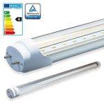 LEDVero 25x LED SMD Tube qualité TÜV T8 G13 couvercle transparent en blanc neutre - 60 cm, 8W, 800lm- prêt pour l'installation de la marque A&G image 1 produit