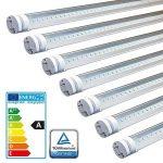 LEDVero 25x LED SMD Tube qualité TÜV T8 G13 couvercle transparent en blanc neutre - 60 cm, 8W, 800lm- prêt pour l'installation de la marque A&G image 2 produit