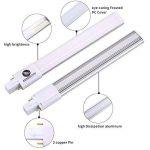 Legelux LED 8W G23lampe PL G232pin Base Repacement de 18W-24W CFL/Compact Lampe fluorescente Tube 4000K Nature Blanc AC85–265V horizontal à encastrer (enlever le Ballast) de la marque LEGELUX image 4 produit