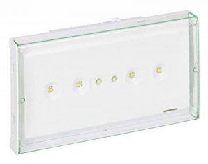 Legrand LEG62565 Bloc BAES d'ambiance Eco1 Standard à tube fluorescent IP43/IK07 Plastique de la marque Legrand image 0 produit
