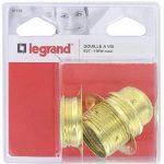 Legrand LEG91132 Douille acier laitonné pour Ampoule à vis E27 de la marque Legrand image 1 produit