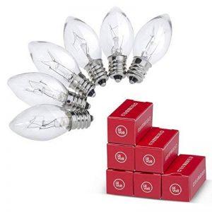 Levoit Ampoules de la Lampe de Sel de l'Himalaya, E12, 15Watt, Lot de 6 Ampoules à Incandescence, Compatible avec Toutes les Lampes de Sel de Levoit de la marque Levoit image 0 produit