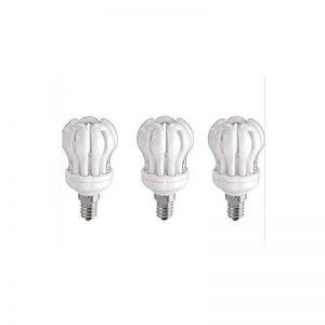 Lexman lot de 3 Ampoules lotus économie d'énergie E14, 14W/60W de la marque Lexman image 0 produit