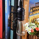 Licperron Edison Ampoules E14 à vis St48 40 W 220 V Filament antique verre ampoule vintage, à intensité variable, Lot de 3 de la marque Licperron image 1 produit
