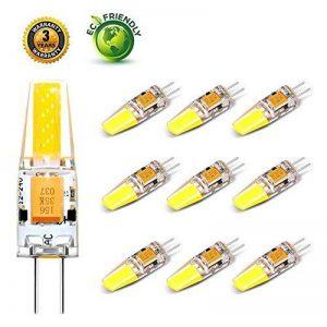 Lifebee LED G4 10package ampoule bulb 3W 12-24V Blanc Chaud Fabriqué en Silicone de la marque Lifebee image 0 produit