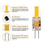 Lifebee LED G4 10package ampoule bulb 3W 12-24V Blanc Chaud Fabriqué en Silicone de la marque Lifebee image 1 produit