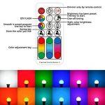 LightAurora 10W E27 Ampoule LED couleur avec télécommande, 120 choix de couleurs Ampoule à vis Multicolore, double mémoire et commande de commutateur mural, RGB + Blanc --- 4ème génération(Lot de 1) de la marque LightAurora image 1 produit