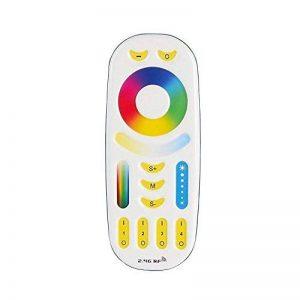 LIGHTEU®, RGB + CCT (RGBWW) Télécommande pour module de contrôle sans fil WiFi Contrôleur LED Télécommande et RGBWW Wi-Fi ampoules, fut092 de la marque LIGHTEU image 0 produit
