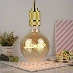 Lightingdesigner Edison Ampoule LED Big Globe G125personnage LED Filament 4W 220/240V E27, love, E27 4.00W 240.00V de la marque LightingDesigner image 1 produit
