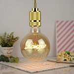 Lightingdesigner Edison Ampoule LED Big Globe G125 personnage LED Filament 4 W 220/240 V E27, love, E27 4.00W 240.00V de la marque LightingDesigner image 1 produit