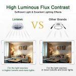 Lintelek Ampoules LED Spot GU10 5W, (=50W Ampoules Halogènes), 500lm, 4000K Blanc Neutre, 40 °Angle d'éclairage, GU10 Ampoules LED MR16, Homologué UL, Non-Dimmable, Lot de 10 de la marque Lintelek image 3 produit