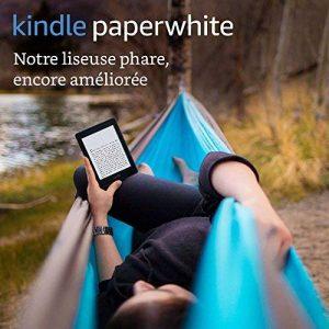 """Liseuse Kindle Paperwhite, Écran Haute Résolution 6"""" (15 cm) 300 ppp avec éclairage intégré et Wi-Fi (Noir) - Avec offres spéciales de la marque Amazon image 0 produit"""
