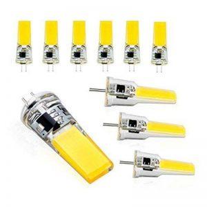 Lit.10XG4 lampadine a led AC / DC 12 V 6 W COB SMD Ampoule Led G4 Equivalent à Halogène 60W Angle d'éclairage 360 ° 550LM 6000K de la marque Lit. image 0 produit
